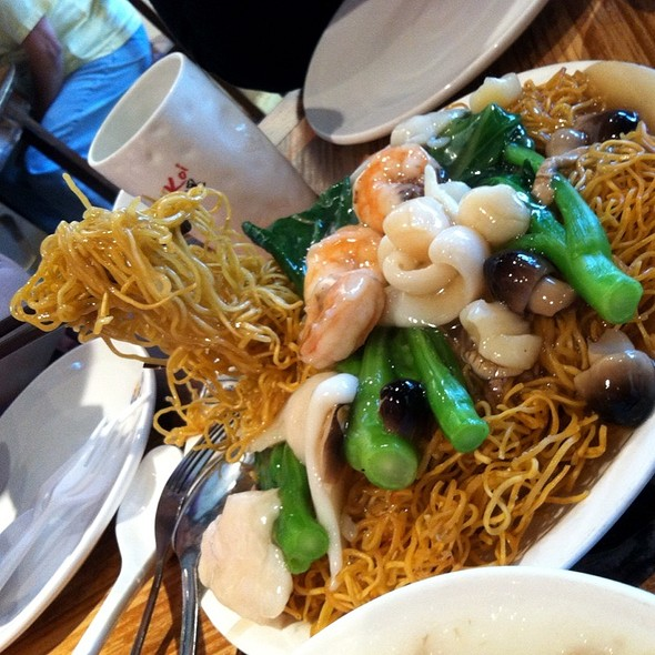 Hong Kong Style Pan Fried Noodles @ Just Koi