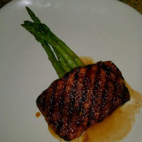 Woodford Glazed Salmon - Naples Flatbread & Wine Bar - Mercato, Naples, FL