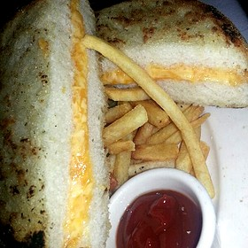 Grilled Cheese Dinner - Pappas Bros. Steakhouse, Dallas, TX