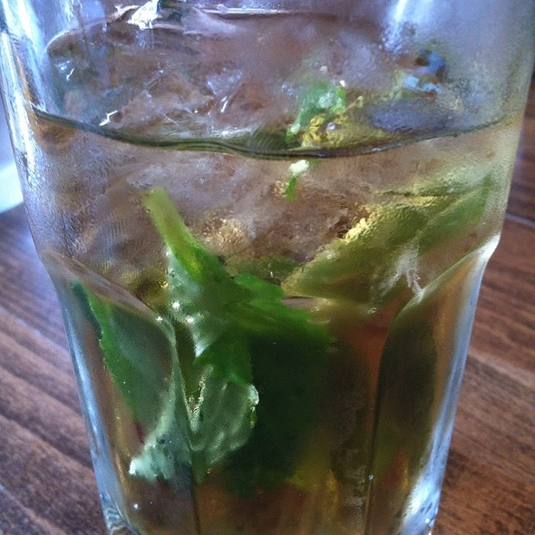 Mint Iced Tea @ Hummus Place