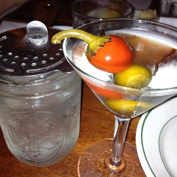 Cajun Martini @ The Palace Grill