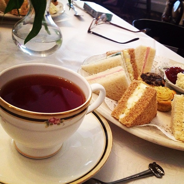 Afternoon Tea Savories - Reynolds Tavern, Annapolis, MD