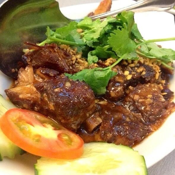 Thai Bbq Spare Ribs @ Jatujak Thai Resto