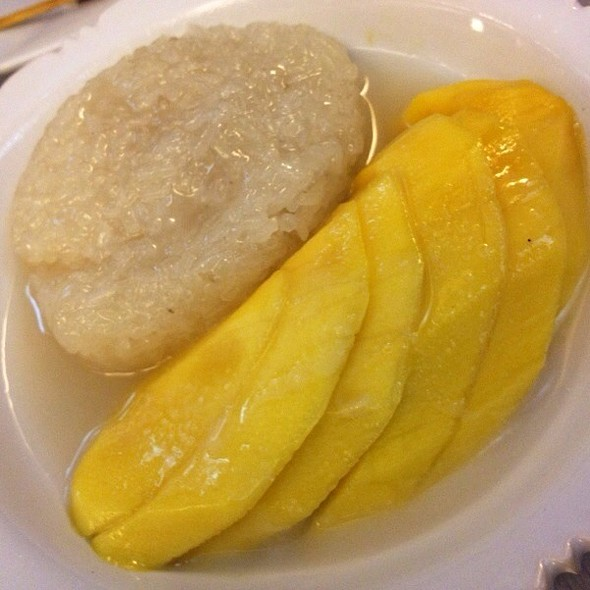 Mango Sticky Rice @ Jatujak Thai Resto