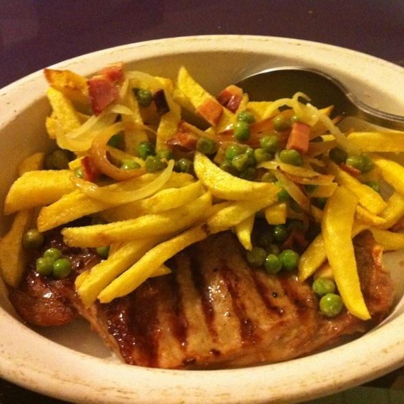 Bife a Barriga dos Frades @ restaurante Barriga dos Frades