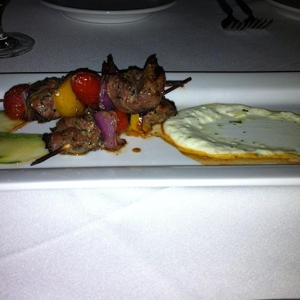 Lamb Kebabs @ Coach Insignia