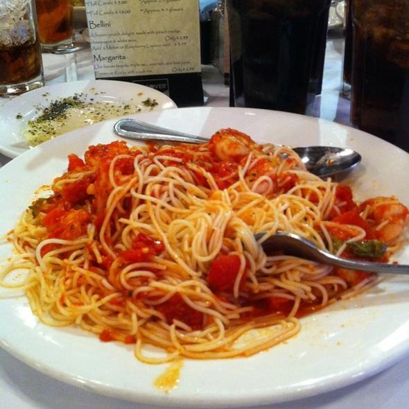 Angel Hair Pasta With Shrimp @ Zio's Italian Kitchen