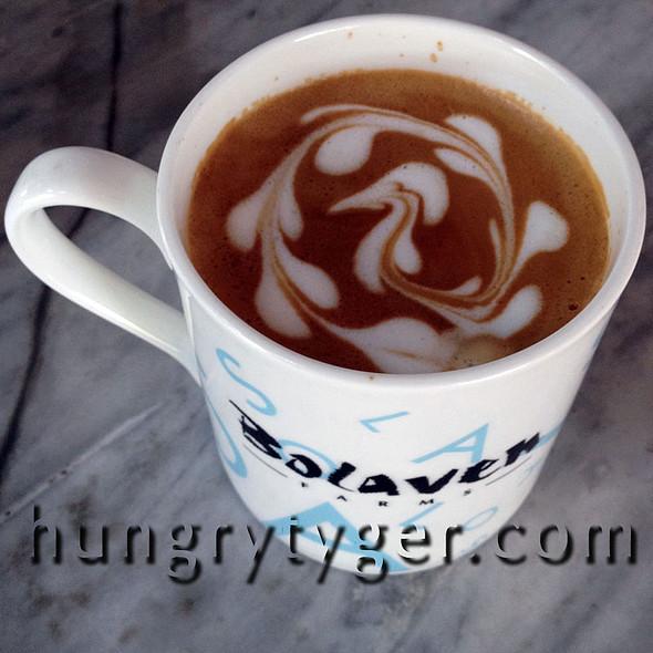 Cafe Latte Hazelnut @ Bolaven Cafes Langkawi