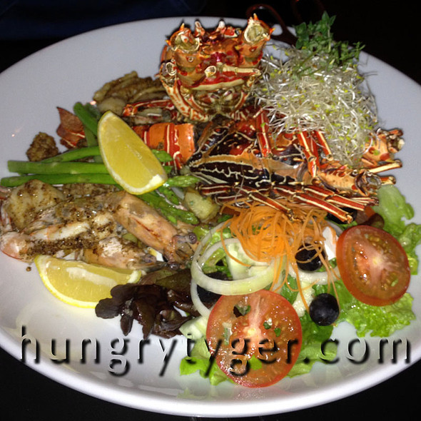 Seafood Platter @ Tanjung Sanctuary Resort Cafe - Langkawi