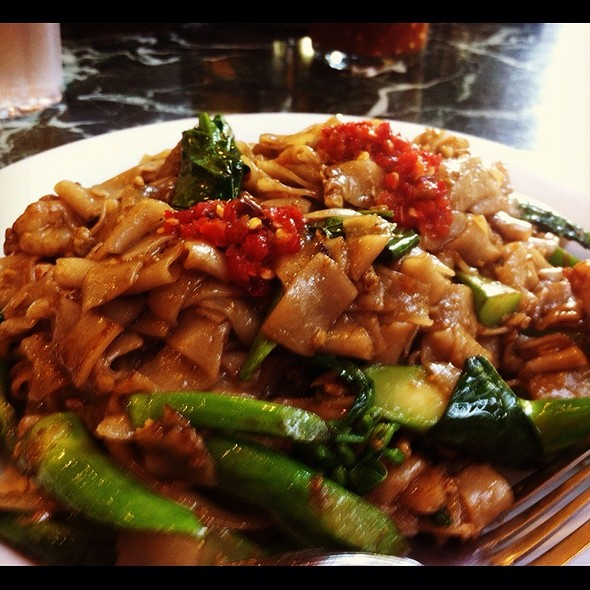 Tuk Tuk Thai Cafe Menu