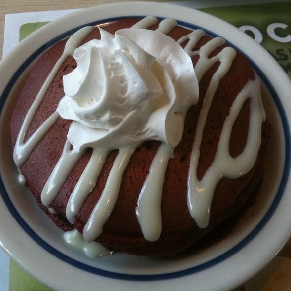 Red Velvet Pancakes @ IHOP Restaurant