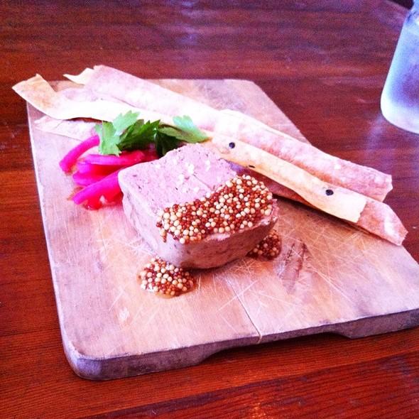 berkshire pork pate - Salt's Cure Los Angeles, West Hollywood, CA
