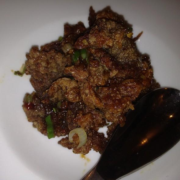 course 8: crispy beef - Jai Yun, San Francisco, CA