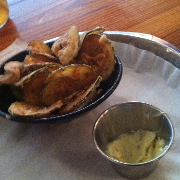 Deep Fried Pickles @ Bull City Burger and Brewery