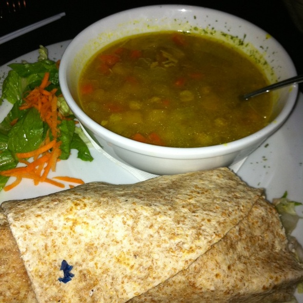 Club Wrap and Mulligatawny