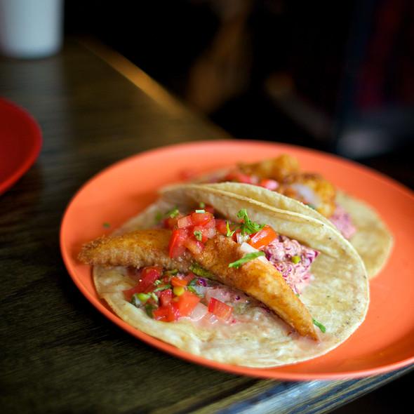 Atlantis Taco (with Fish) @ La Lucha Tacos & Boutique