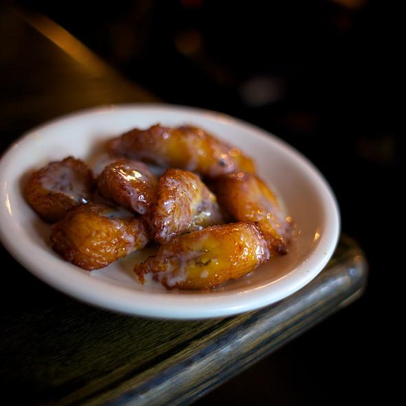Fried Plantains @ La Lucha Tacos & Boutique