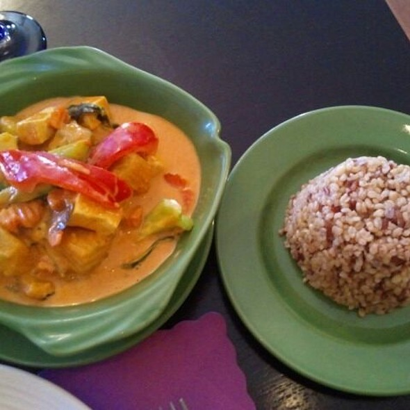 Pumpkin Red Curry @ Royal Thai