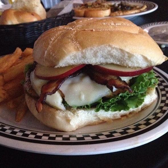 Big Apple Triple Threat Turkey Burger @ The Lucky Dill