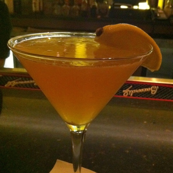 Pear Sidecar - Exchange Street Bistro, Malden, MA