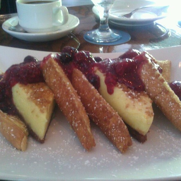 Key Lime Pie Stuffed French Toast - Azur, Key West, FL