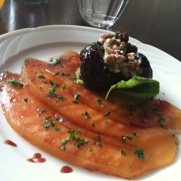Fig and Melon Salad - Le Grenier, Washington, DC