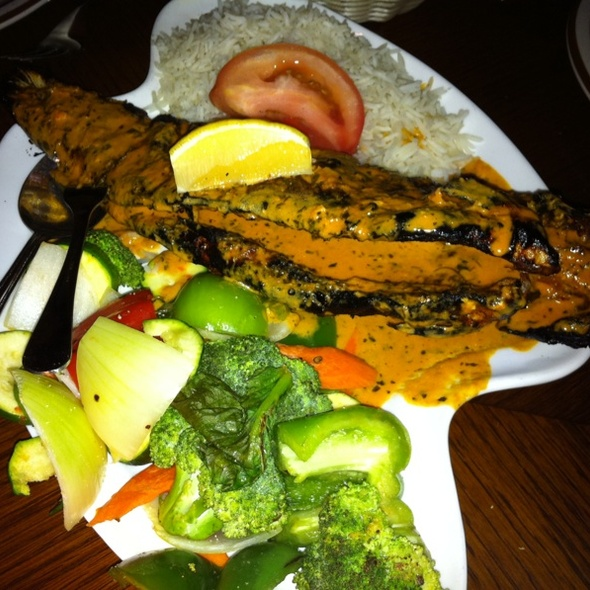 Tandoori Trout @ Bombay Grill