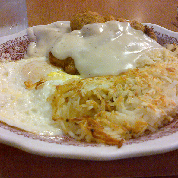 Chicken Fried Steak & Eggs @ Millbrae Pancake House