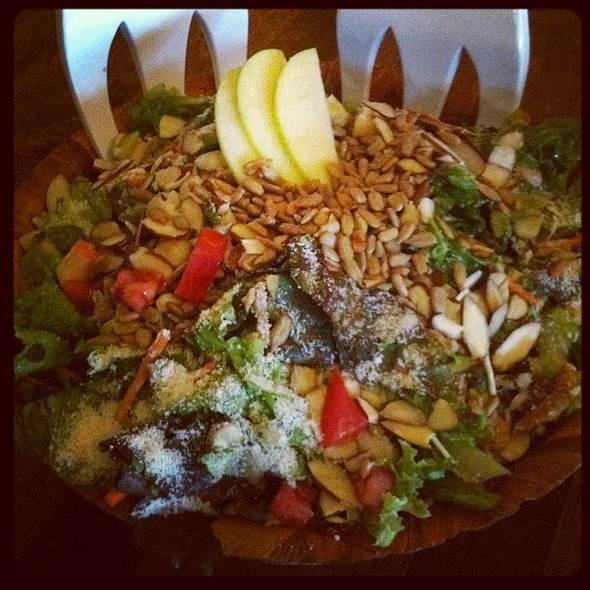 The Satch Salad @ Satchel's Pizza