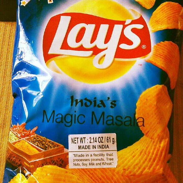 Magic Masala Lays Chips @ Indian Food Store
