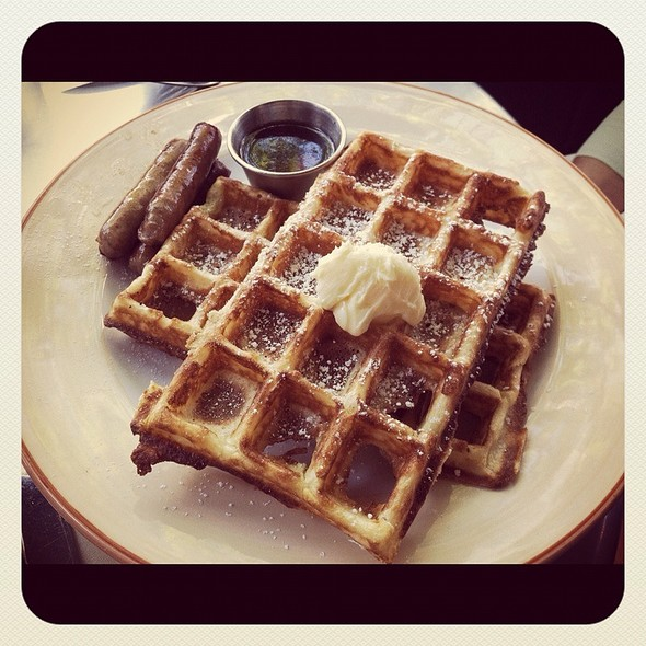 Belgium Waffles @ Max London's