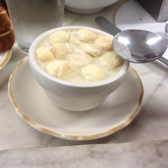 New England Clam Chowder @ Swan Oyster Depot