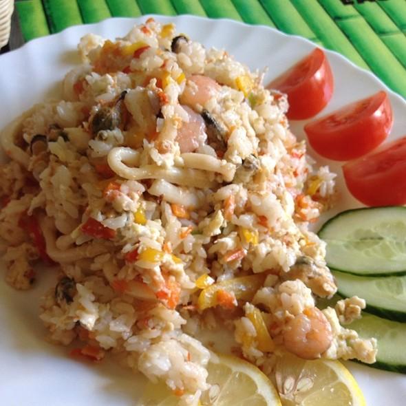 Fried Rice With Seafood @ EAST-ТОРИЯ, ресторан корейской кухни, ООО