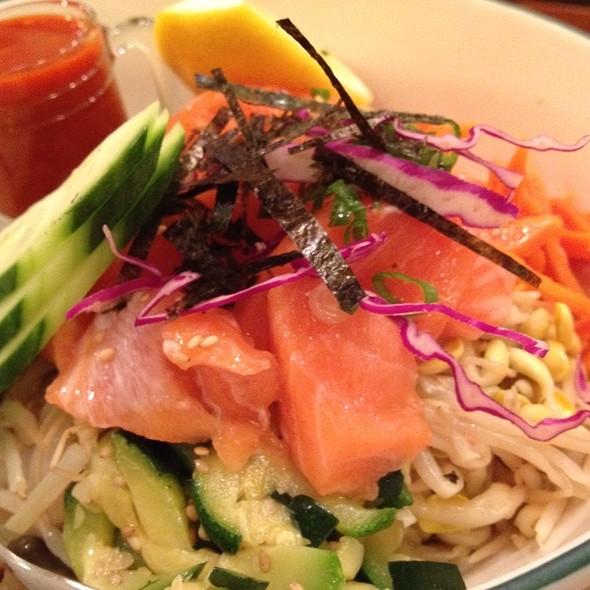 Salmon Tartar Bib Bim Bop @ Chocho's