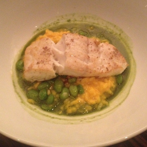 Pan-seared Halibut - Triniti at Tower Club, Dallas, TX