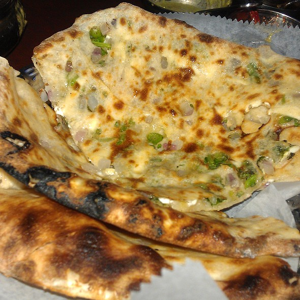Cheese Stuffed Naan @ Taste Of India