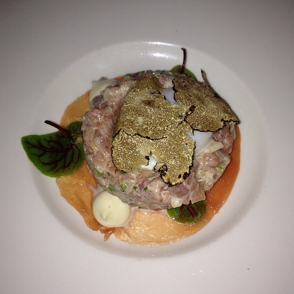Tuna Tartar, Poached Egg, Summer Truffle - Dettera Restaurant & Wine Bar, Ambler, PA