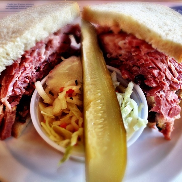Smoked Meat Sandwich