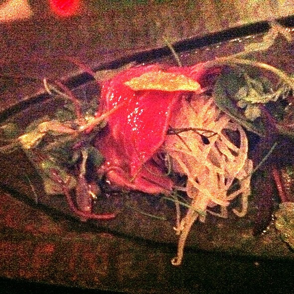 Seared Beef With Chilli Ginger Ponzu - Zuma Japanese Restaurant - Miami, Miami, FL
