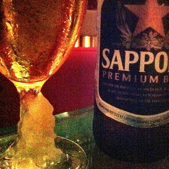 One More Sapporo - Zuma Japanese Restaurant - Miami, Miami, FL