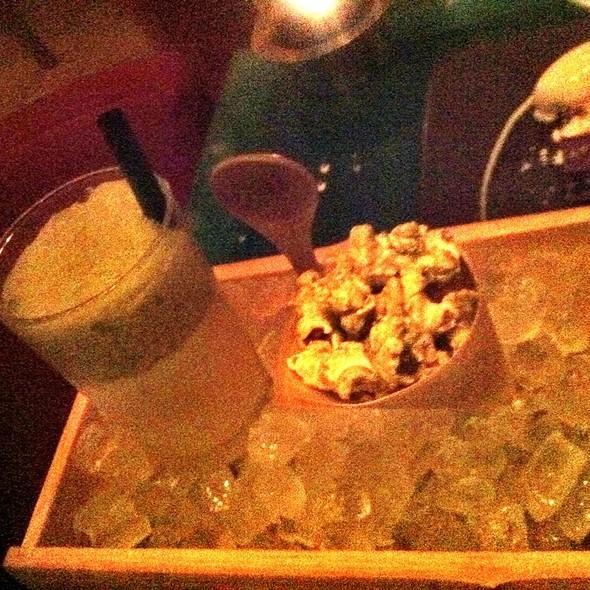 Popcorn Milkshake With Green Tea - Zuma Japanese Restaurant - Miami, Miami, FL