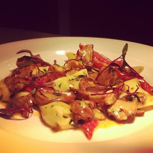 Agnolotti • Lobster Shrooms • Ricotta • Tomatoes - Thirty 7 North Restaurant & Bar, Virginia Beach, VA