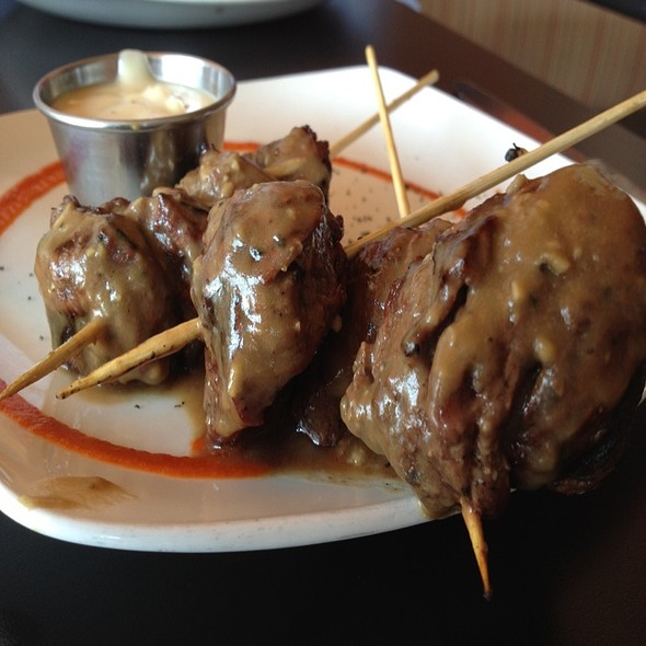 Guinness And Garlic Steak Skewers - Crave - Akron, Akron