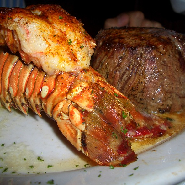 Steak and Lobster Combo @ Ruth's Chris Steak House