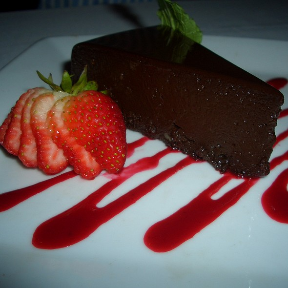 Chocolate Sin Cake @ Ruth's Chris Steak House