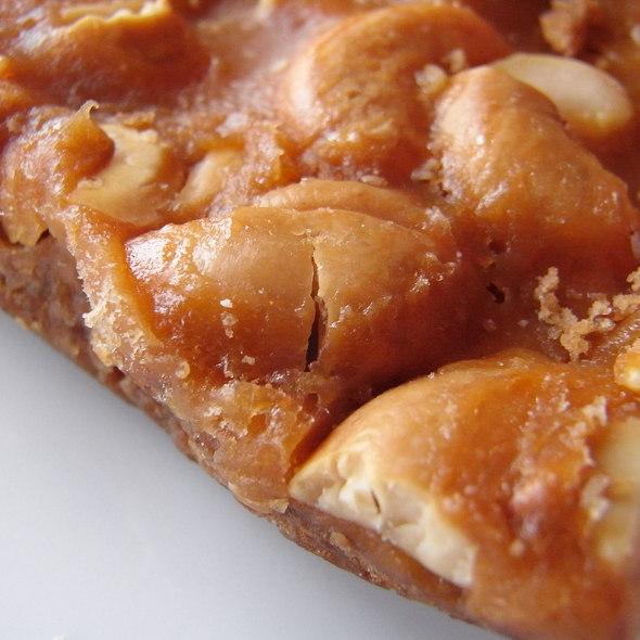 cashew bar @ Amy's Bread
