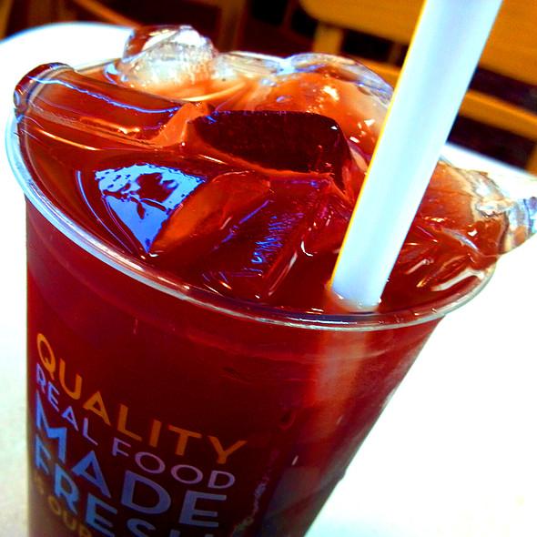 Wild Berry Ice Tea @ Wendy's