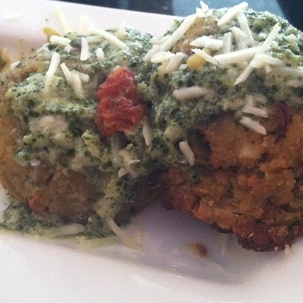 Veggie Meatballs @ Oliver's Restaurant