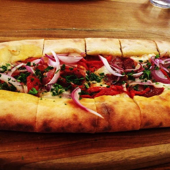 Spicy Soujuk Pide - Momed - Beverly Hills, Beverly Hills, CA