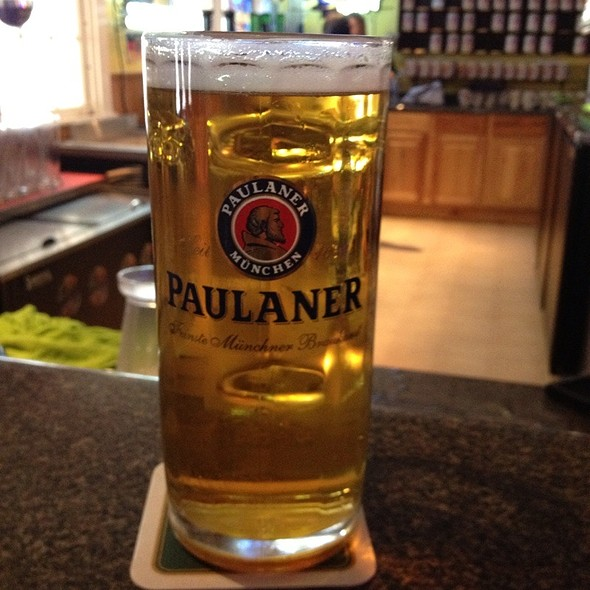 Spaten (In A Paulaner Glass)